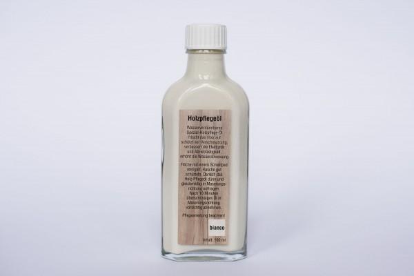 Massivholz Pflegeöl Bianco