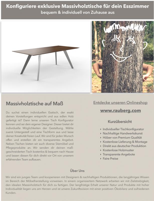 Rauberg Info Broschüre