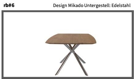 Design Mikado Untergestell: Edelstahl