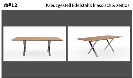 Kreuzgestell Edelstahl: klassisch & zeitlos