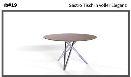Gastro Tisch in voller Eleganz